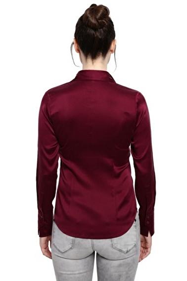 Silk and Cashmere Gömlek Mürdüm
